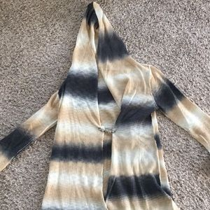 Sweaters - Tie dyed cardigan